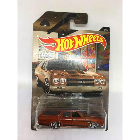Hot Wheels - 70 Chevelle Ss Wagon - Hot Wheels Garage - Walmart Exclusivo