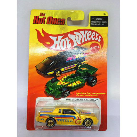 Hot Wheels - Buick Grand National Amarelo - The Hot Ones - Chase Version