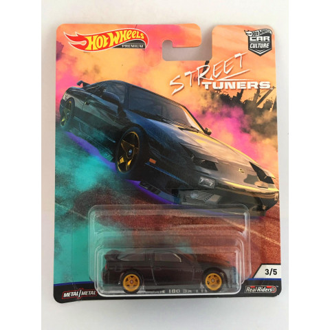 Hot Wheels - 96 Nissan 180 Sx Type X Preto - Street Tuners - Car Culture