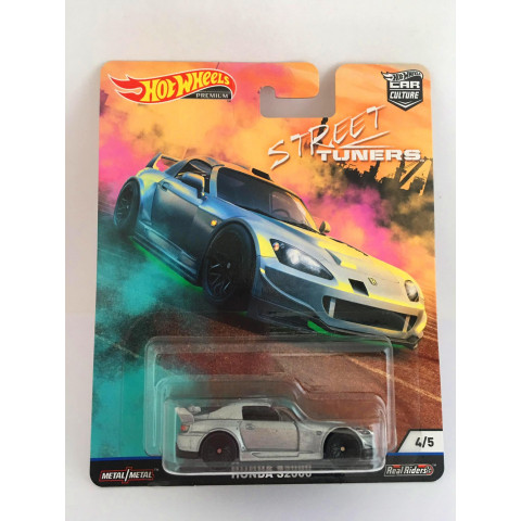 Hot Wheels - Honda S2000 Cinza - Street Tuners - Car Culture