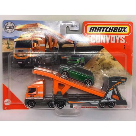 Matchbox - Mbx Cabover & Auto Transport Trailer \\\ 2011 Mini Countryman - Convoys