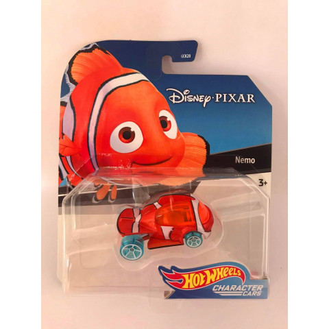 Hot Wheels - Nemo - Disney Pixar - Character Cars