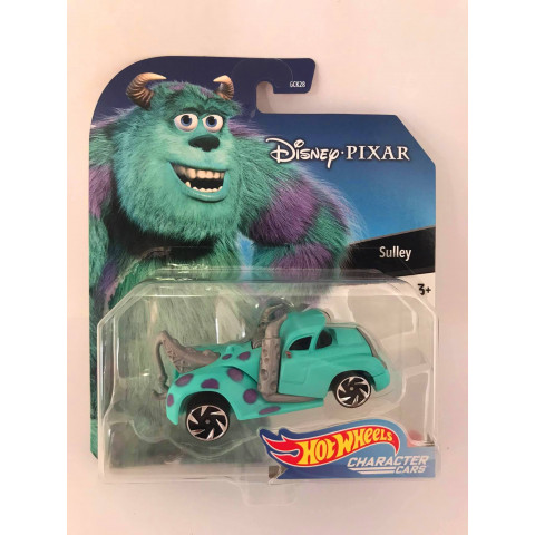 Hot Wheels - Sulley - Disney Pixar - Character Cars