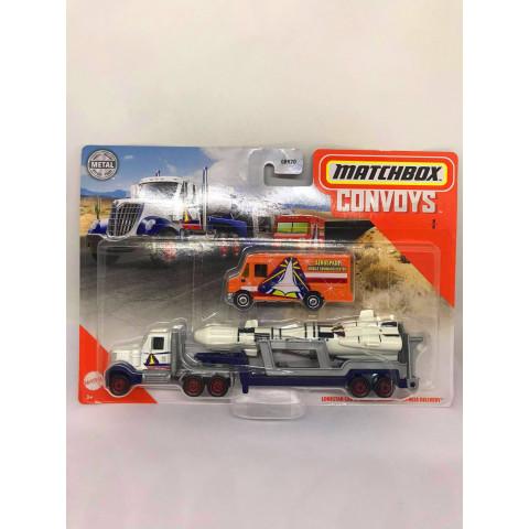 Matchbox - Lonestar Cab & Rocket Trailer \\\ Express Delivery - Convoys