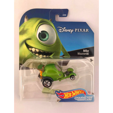 Hot Wheels - Mike Wazowski - Disney Pixar - Character Cars