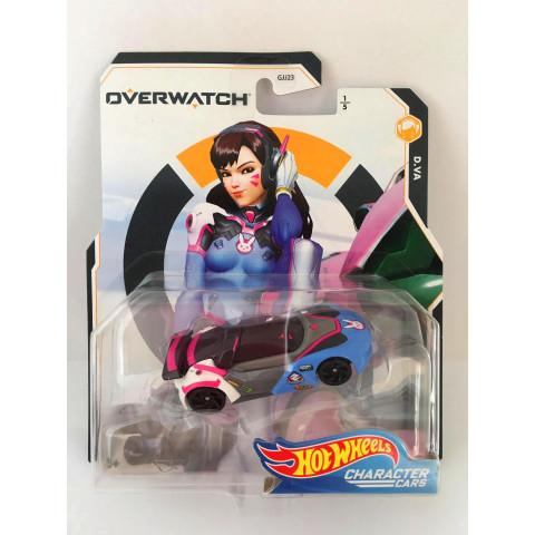 Hot Wheels - D.Va - Overwatch - Character Cars