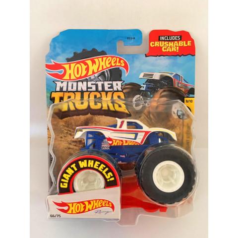 Hot Wheels - Hot Wheels Branco - Giant Wheels - Monster Trucks