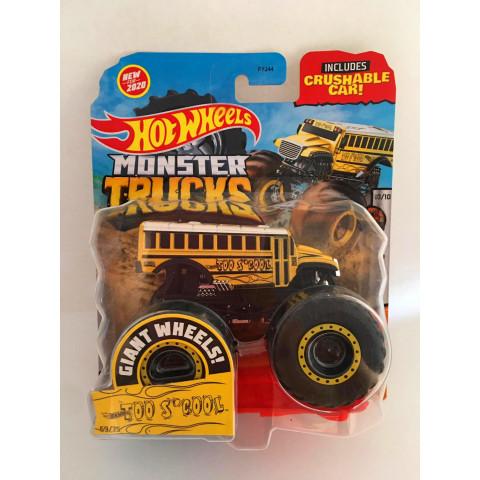 Hot Wheels - Too S'cool Amarelo - Giant Wheels - Monster Trucks