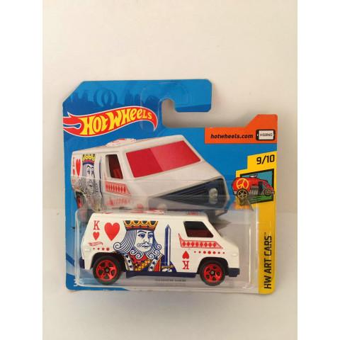 Hot Wheels - Super Van Branco - Mainline 2020