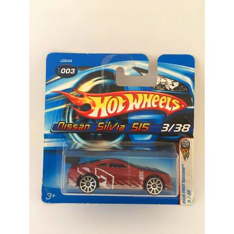 Hot Wheels - Nissan Silvia 515 Vermelho - Mainline 2006