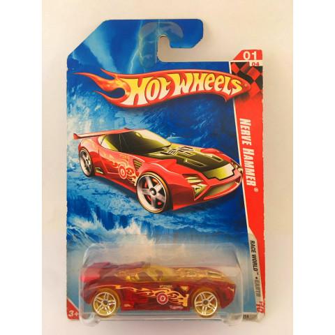 Hot Wheels - Nerve Hammer  Vermelho - Mainline 2010