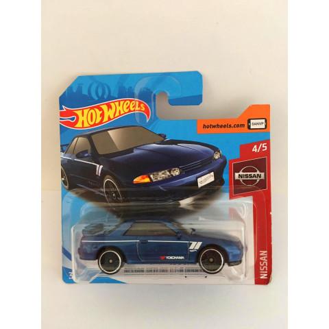 Hot Wheels - Nissan Skyline Gt-R (BNR32) Azul - Mainline 2019