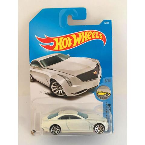 Hot Wheels - Cadillac Elmiraj Branco - Mainline 2017
