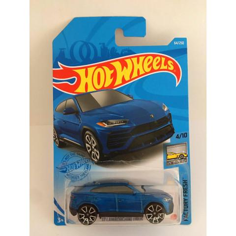 Hot Wheels - 17 Lamborghini Urus Azul - Mainline 2021