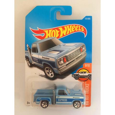 Hot Wheels - 1978 Dodge Li´L Red Express Truck Azul - Mainline 2017