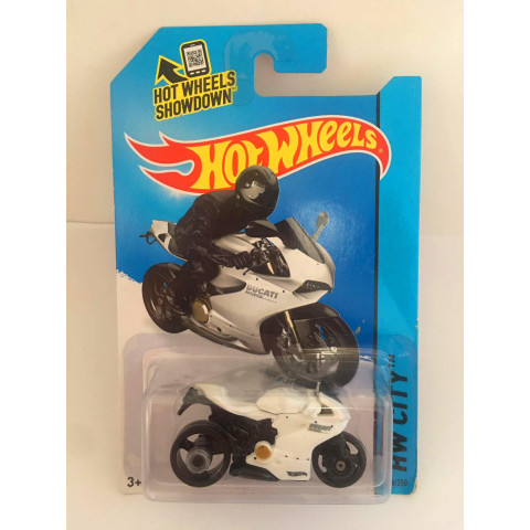 Hot Wheels - Ducati 1199  Panigale Branca - Mainline 2014