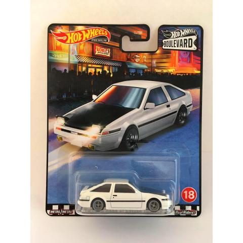 Hot Wheels - Toyota Ae86 Sprinter Trueno Branco - Boulevard