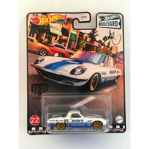 Hot Wheels - 1968 Mazda Cosmo Sport Branco - Boulevard
