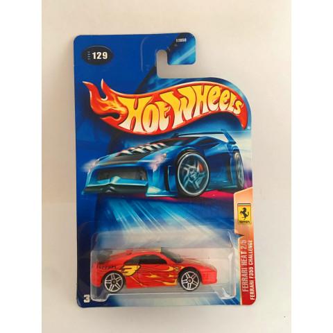 Hot Wheels - Ferrari F355 Challenge Vermelho - Mainline 2004
