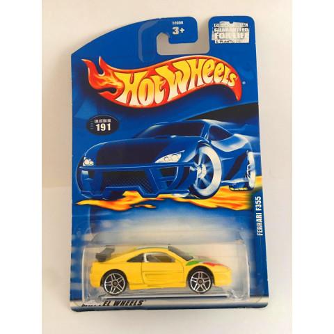 Hot Wheels - Ferrari F355 Amarelo - Mainline 2001