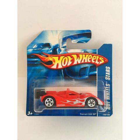 Hot Wheels - Ferrari 333 SP Vermelho - Mainline 2007 - LEIA