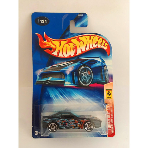 Hot Wheels - Ferrari 550 Maranello Preto - Mainline 2004