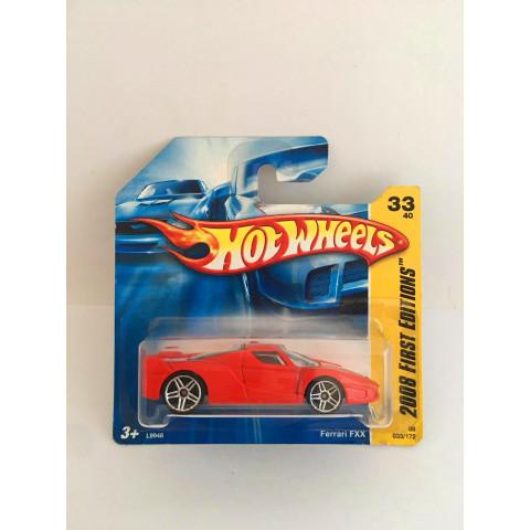 Hot Wheels - Ferrari FXX Vermelho - Mainline 2008