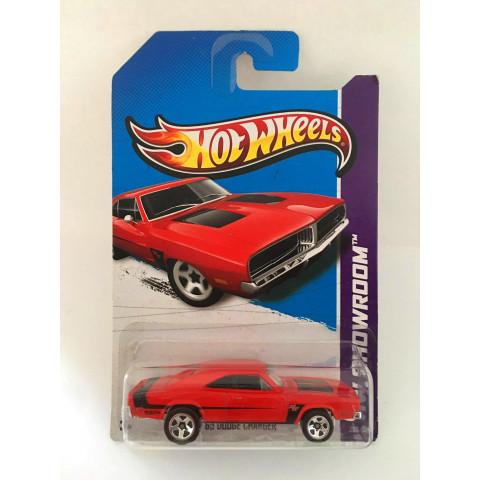 Hot Wheels - 69 Dodge Charger Vermelho - Mainline 2013