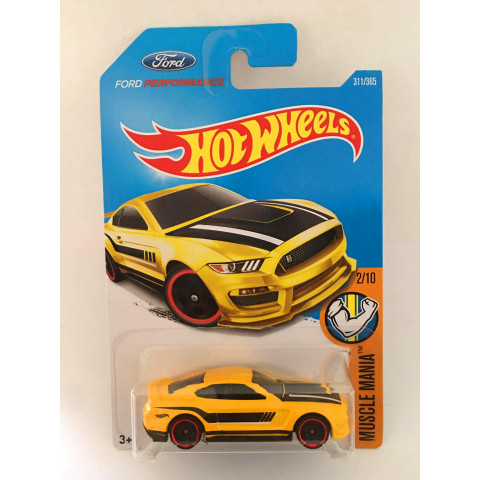 Hot Wheels - Ford Shelby GT350R Amarelo - Mainline 2017