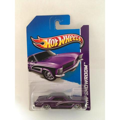 Hot Wheels - 64 Buick Riviera Roxo - Mainline 2013