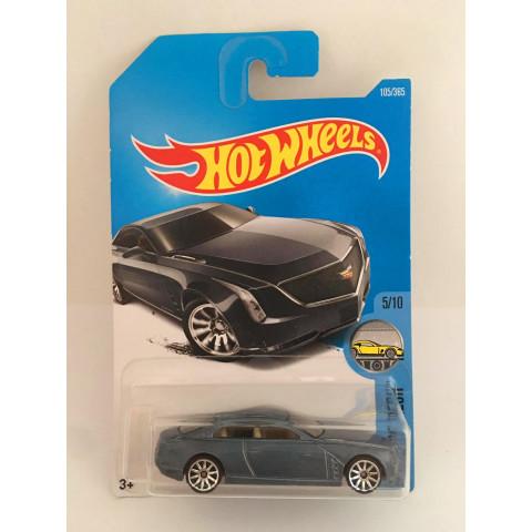 Hot Wheels - Cadillac Elmiraj Cinza - Mainline 2017