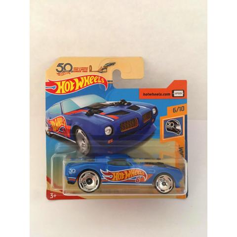 Hot Wheels - 70 Pontiac Firebird Azul - Mainline 2018