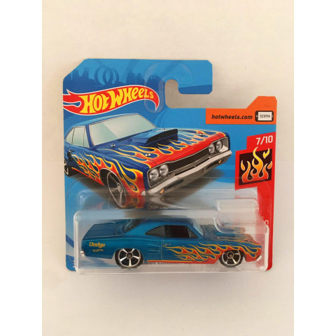 Hot Wheels - 69 Dodge Coronet Superbee Azul - Mainline 2018