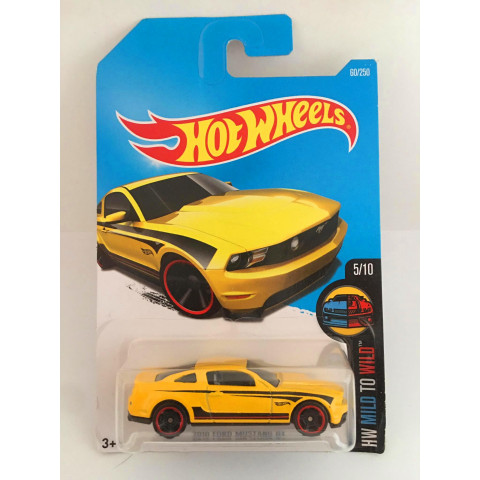 Hot Wheels - 2010 Ford Mustang Gt Amarelo - Mainline 2016