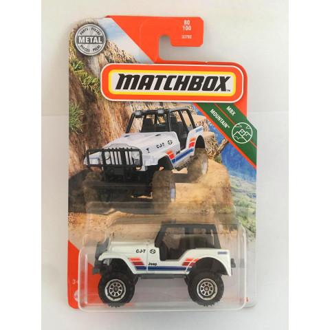 Matchbox - Jeep 4x4 Branco - Básico 2020