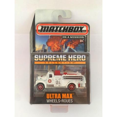 Matchbox - 1963 Mack B Model Branco - Supreme Hero