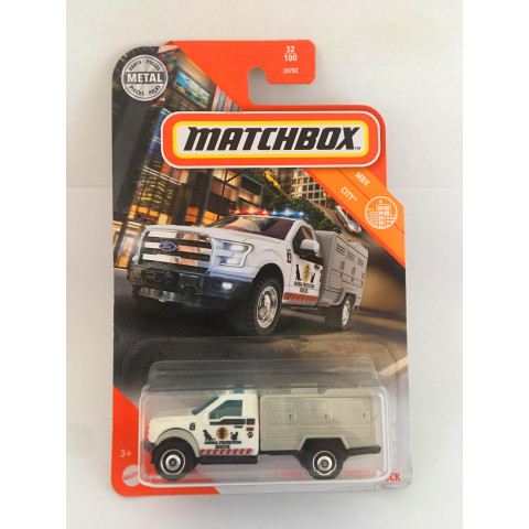 Matchbox - 10 Ford Animal Control Truck - Básico 2020