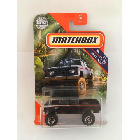 Matchbox - 1968 Dodge D200 Preto - Mbx Jungle 2020
