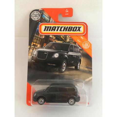Matchbox - Levc TX Taxi Preto - Básico 2020