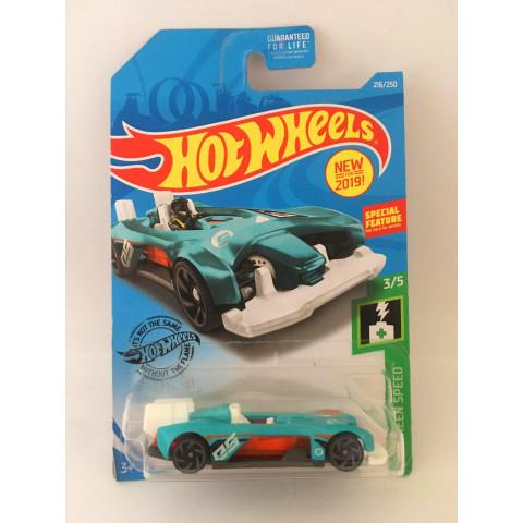 Hot Wheels - Electro Silhouette Azul - Mainline 2019 - Exclusiva Lojas Kroger