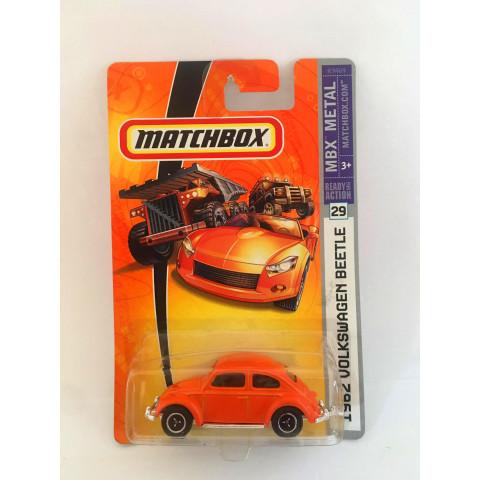 Matchbox - 1962 Volkswagen Beetle Laranja - Ready for Action