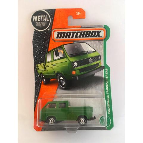 Matchbox - Volkswagen Transporter Cab Verde - Básico 2017 - Caçamba com Ferramentas