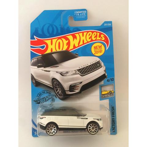 Hot Wheels - Ranger Rover Velar Branca - Mainline 2019 - Exclusiva Lojas Kroger