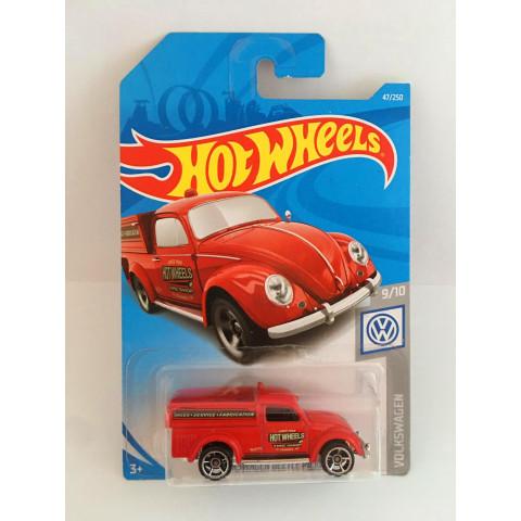 Hot Wheels - 49 Volkswagen Beetle Pickup Vermelho - Mainline 2019