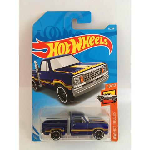 Hot Wheels - 1978 Dodge LI´L Red Express Truck Azul - Mainline 2019