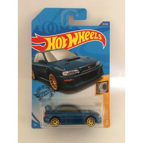 Hot Wheels - 98 Subaru Impreza 22b Sti-Version Azul - Mainline 2019