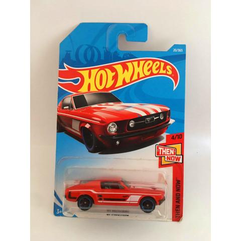 Hot Wheels - 67 Mustang  Vermelho - Mainline 2018