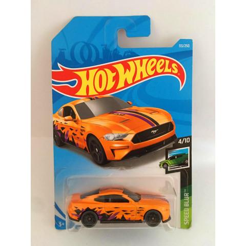 Hot Wheels - 2018 Ford Mustang Gt Laranja - Mainline 2019
