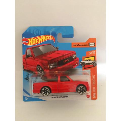 Hot Wheels - 91 Gmc Syclone Vermelho Cartela Curta - Mainline 2020