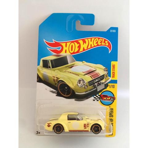 Hot Wheels - Fairlady 2000 Amarelo - Mainline 2017